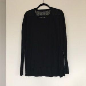 Black BCBG Maternity Shirt